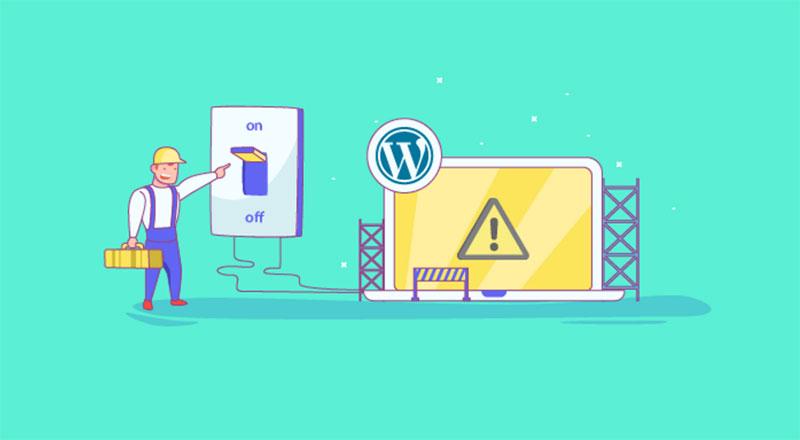 best wordpress theme - maintenance